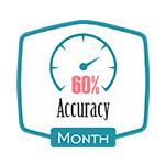 Accurancy 60% Month