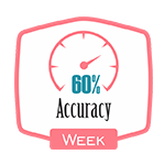 Accurancy 60% Week